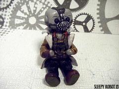 Bane Robot 1 (Sleepy Robot 13) Tags: cute robot diy handmade robots polymerclay fimo comicbook kawaii sculpey etsy urbanvinyl marvel sculpting smallbusiness sleepyrobot13 polymerclayurbanvinylsleepyrobot13etsysilvercraftcraftscraftingsculptingsculpturefigurinearthandmadecraftshowcutekawaiirobots