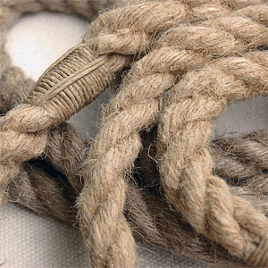 hemp rope leash