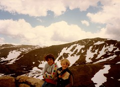 Colorado Cold! (EllenJo) Tags: mountains cold rockies colorado chad brothers 80s roberts 1983 todd 1980s rockymountainnationalpark familyvacation familyalbum robertsfamily generationx chadsfamily