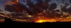 Sunset zonsondergang Houtem (bartseyshoutem) Tags: sunset sky panorama color weather landscape evening zonsondergang flickr wolken zon hemel landschap weer kleur evenin houtem pentaxfa31mmf18allimited pentax31 pentaxk5 bartseyshoutem bartseys