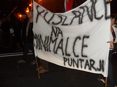 Protesti proti vladi (MZaplotnik) Tags: oktober protest ljubljana slovenija slovenska politiki shod 2013 proti naroda javni kapitala gotofje vstaja ljprotest vseslovenska gotofsi vsesplošna diktaturi