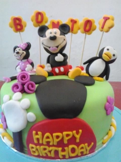Birthday Cake Mickey Mouse Jakarta