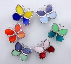. (Erika Gutirrez Ho) Tags: peru glass lima butterflies stainedglass tiffany mariposas vidrio