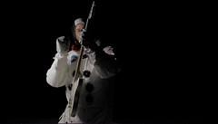 Guitar Astronaut (Pennan_Brae) Tags: moon oregon guitar profile astronaut nasa 1972 apollo17