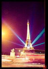 Paris, ville lumire ! (mamnic47 - Over 6 millions views.Thks!) Tags: paris illuminations toureiffel trocadero placedutrocadero paris7e img1851 effetphotoshop effetsdelumires nol2013 19122013