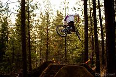Skye. (therealjatch) Tags: light sun skye green canon washington jump spokane hill dirt beacon jumps