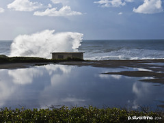2014 Mar Guincho I (Paulo Silveirinha) Tags: sea storm portugal clouds mirror waves 1001nights guincho cascais greatphotographers 1001nightsmagiccity mygearandme mygearandmepremium
