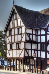 Rowley's Mansion 3 (AdamsWife) Tags: uk england building tourism museum architecture shropshire tourists shrewsbury mansion touristattraction towncentre 16thcentury timberframed 2013 barkerstreet rowleyshouse hillslane eveparry