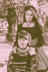 Pandora Beck (Book) (MaxiKohan) Tags: woman sepia dark costume model beck antique lolita pandora roja maxikohanphotography