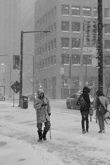 Opportunity (darioman) Tags: street opportunity snow toronto canada man cold ice wet walking snowflakes snowstorm streetphotography neve freddo ghiaccio metropoli {vision}:{text}=0561 {vision}:{outdoor}=0946
