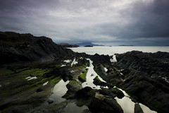 View from Seil (Rob Rossington) Tags: seascape landscape island scotland moss rocks argyll hebrides bute seil vision:mountain=0807 vision:outdoor=0947 vision:ocean=0804 vision:clouds=0889 vision:sky=0943