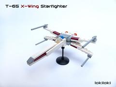 X-wing microscale (lokiloki29) Tags: starwars lego xwing microscale