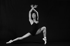 One Pointe (Narratography by APJ) Tags: ballet woman beautiful dance dancer stretch pointe apj narratography