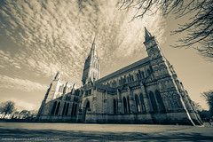 Salisbury Cathedral (Scott Cartwright Photography) Tags: old canon purple gothic historic salisbury salisburycathedral wildlifephotography canoncameras canon5dmkiii canon5dmk3 scottcartwright shrewsburyphotographer scottcartwrightphotography shrewsburyfreelancephotographer