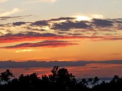 Sunset, Waikiki, Honolulu, Hawaii 3/22/14 (LJHankandKaren) Tags: sunset hawaii waikiki honolulu waikikisunset