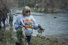 Jones Falls Stream Clean-Up (Stevenson University Photography) Tags: students stevenson volunteering environment su volunteer stevensonuniversity