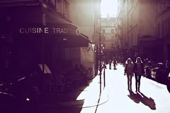 Street life Paris (CreART Photography) Tags: street city travel light sunset shadow urban paris france color art