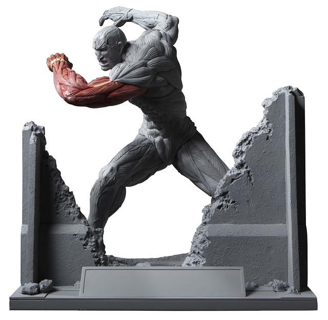 震撼新作開發中!「進擊的巨人」超大型巨人決戰場景!