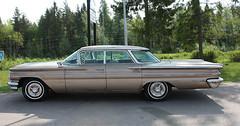 1960 Pontiac Bonneville (crusaderstgeorge) Tags: cars sweden pontiac classiccars bonneville tlc americancars 2014 pontiacbonneville americanclassiccars ockelbo