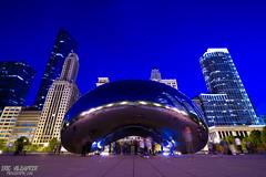 Cloud Gate (ericvilendrerphoto) Tags: park city chicago night buildings landscape nikon millennium cloudgate d600 tokina1628mm