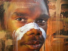 Adnate... (colourourcity) Tags: portrait streetart art portraits wow graffiti amazing awesome australia melbourne stunning aboriginal aerosol awol indigenous nextlevel adnate awolcrew themetrogallery burncity colourourcity beyondthelands