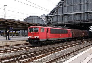 BR 155 006-0 Stahlzug, Bremen Hbf