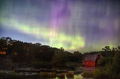 Heaven's Dance (karenhunnicutt) Tags: minnesota stars nightsky zimmerman northernlights auroraborealis thatbarn karenhunnicutt karenmeyer karenhunnicuttphotographycom minneapolisfineartphotography infamoussinkingbarn