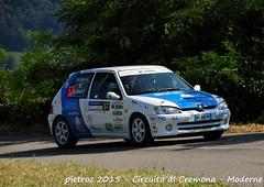 057-DSC_6404 - Peugeot 106 Rallye - N2 - De Cecco valerio-De Cecco Amalia - Just Race ASD (pietroz) Tags: photo nikon foto photos rally fotos di pietro circuito cremona zoccola pietroz d300s