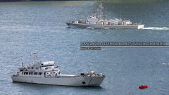 PLAN Type Type 037-II Missle Boat & 074 Yuhai Class Landing Ship (AC Studio) Tags: ocean china hongkong boat war ship harbour military navy chinese plan vessel victoria class landing hong kong maritime type nautical naval missle warship garrison 074 037ii yuhai