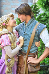 Rapunzel and Flynn (EverythingDisney) Tags: princess disneyland disney rapunzel dlr tangled flynnrider princessrapunzel eugenefitzherbert