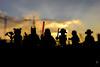 Inspiring characters (Ballou34) Tags: 2017 7dmark2 7dmarkii 7d2 7dii afol ballou34 canon canon7dmarkii canon7dii eos eos7dmarkii eos7d2 eos7dii flickr lego legographer legography minifigures photography stuckinplastic toy toyphotography toys paris îledefrance france fr sunset shadow silhouette panda batman dc comics darth vader star wars starwars pirate space exploration indiana jones