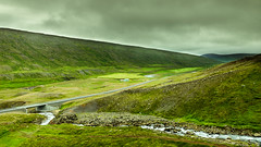North East Iceland (webeagle12) Tags: iceland nikon d7200 europe mountains landscape vegetation rocks nature route1 mountain road clouds green earth planet waterfall north þjóðvegur east valley