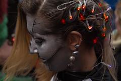 Faces on Carnival (Renate Bomm) Tags: canoneos6d karneval renatebomm rosenmontag project365 facesofcarnival cologne köln girl armageddon mädchen kostüm verkleidung ohr ohrring schmuck flickunitedaward portrait people faces