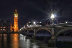 London Calling (Skyline:)) Tags: bigben london night longshutter longexposure water river thames bti bridge street light reflection 7dwf architecture crazytuesdaytheme