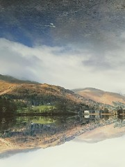 Lakedistrict vistas (Jimbo_Peck) Tags: mirrored lake glass water reflection upsidedown