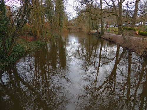 die Trave in Bad Oldesloe