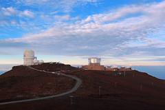 Haleakalā Observatory (russ david) Tags: haleakalā observatory high altitude site institute for astronomy university hawaii maui hi september 2016 volcano national park sunrise