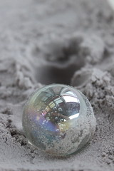 Impact (J-McG) Tags: canonefs1855mmf3556isii canoneos600d sand mirrorball impactcreater