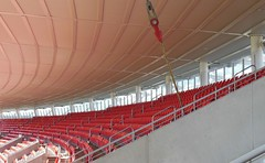 Empty Grandstand (mikecogh) Tags: empty rows seats repetition olympicpark grandstand skodastadium