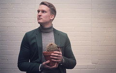 Ian Pierce (jwfairey) Tags: cactus plant men film smart fashion photography funny comedy ianpierce