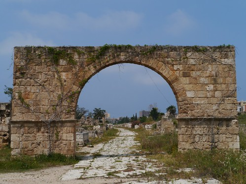 The Entrance To The  Al Bass Archaeological Site, Tyre