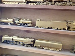 Part of My HO Scale Brass Steam & Diesel Collection (bslook1213) Tags: nyc scale japan vintage japanese model hand o handmade g models trains hobby ktm collection made southern 1950s co unionpacific bo westside 1960s hobbies ho 1970s balboa craftsman 1980s brass mts nakamura lmb southernpacific akane csx ajin kmt steamlocomotive pfm railraod passengertrains diesellocomotive oldtrains on3 tetsudo traincollection suydam tenshodo brasslocomotives hon3 streamlinelocomotive daiyoung vintagemodeltrains hobrass brasstrains brasstraincollection hon3brassmodelstrains esuydam lmblum akanebrass pfmunited unitedmodels pacificfastmail erierailroadgmo brassstreamliners hoscalebrass oscalebrass