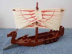 Ragnarok (ZephyrChaos) Tags: boat war ship dragon lego myst moc khrinn