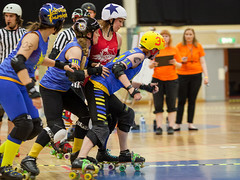 """Stockholm BSTRDs vs. Dock City Rollers-18 • <a style=""""font-size:0.8em;"""" href=""""http://www.flickr.com/photos/60822537@N07/8995164129/"""" target=""""_blank"""">View on Flickr</a>"""