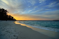 Sunset on Murrays Beach (jaroslavd) Tags: sunset beach australia nsw murrays jervisbay boodereenationalpark