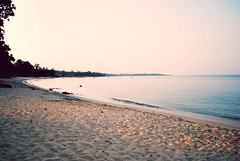 (hamzahies) Tags: beach landscape evening view