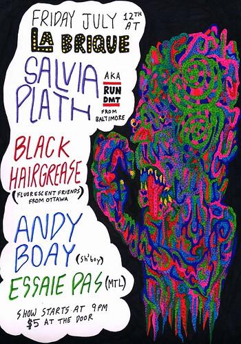 Salvia Plath AKA RUN DMT