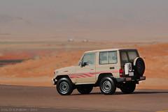TOYOTA 70 (khalid alrabiah) Tags: road car desert offroad 4x4 toyota landcruiser