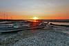 shell boat sunset (Thunderbolt_TW) Tags: sunset sea sky sun reflection water windmill canon landscape taiwan 夕陽 台灣 日落 風景 windturbine 彰化 changhua 風車 彰濱 西濱 肉粽角 彰濱工業區 風景攝影 hsienhsi 線西 5d2 changpingindustryarea