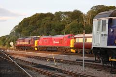 Inv09093 37401+37670 5Z37 1949 to Aberdeen 080809 (retbsignalman) Tags: inverness ews class37 class08 37401 37670 dbschenker 08308